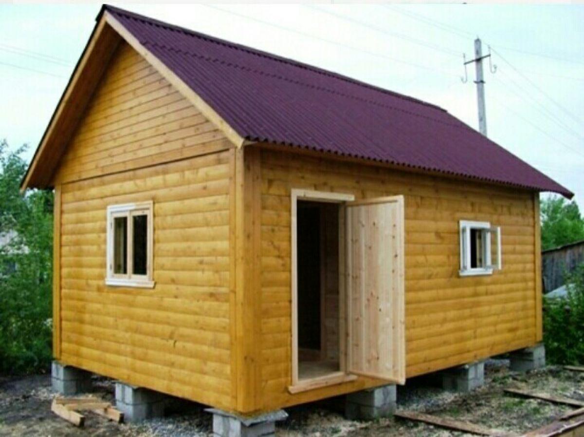 Дачный домик из бытовки 157