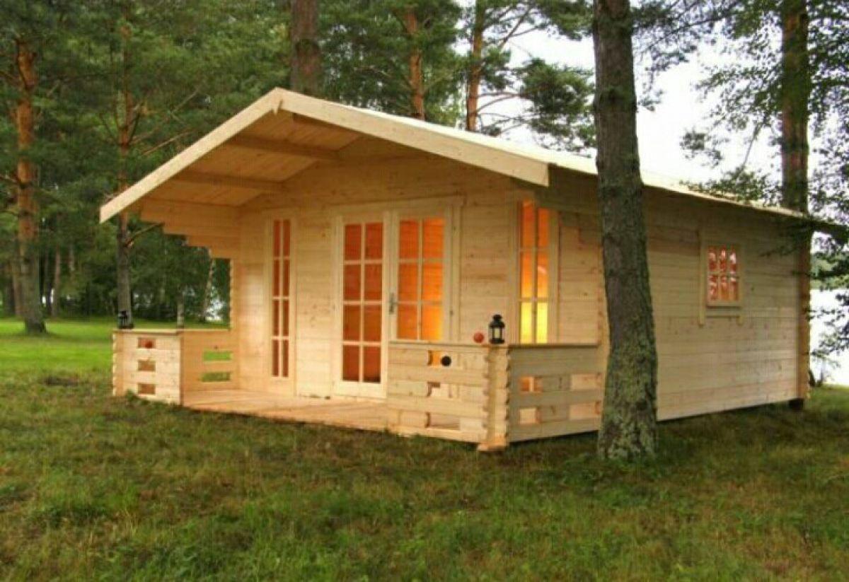 Дачный домик из бытовки 159