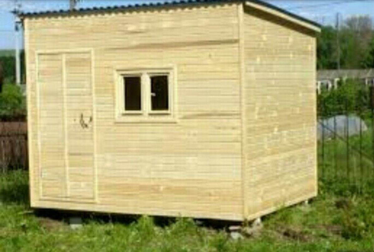 Дачный домик из бытовки 162