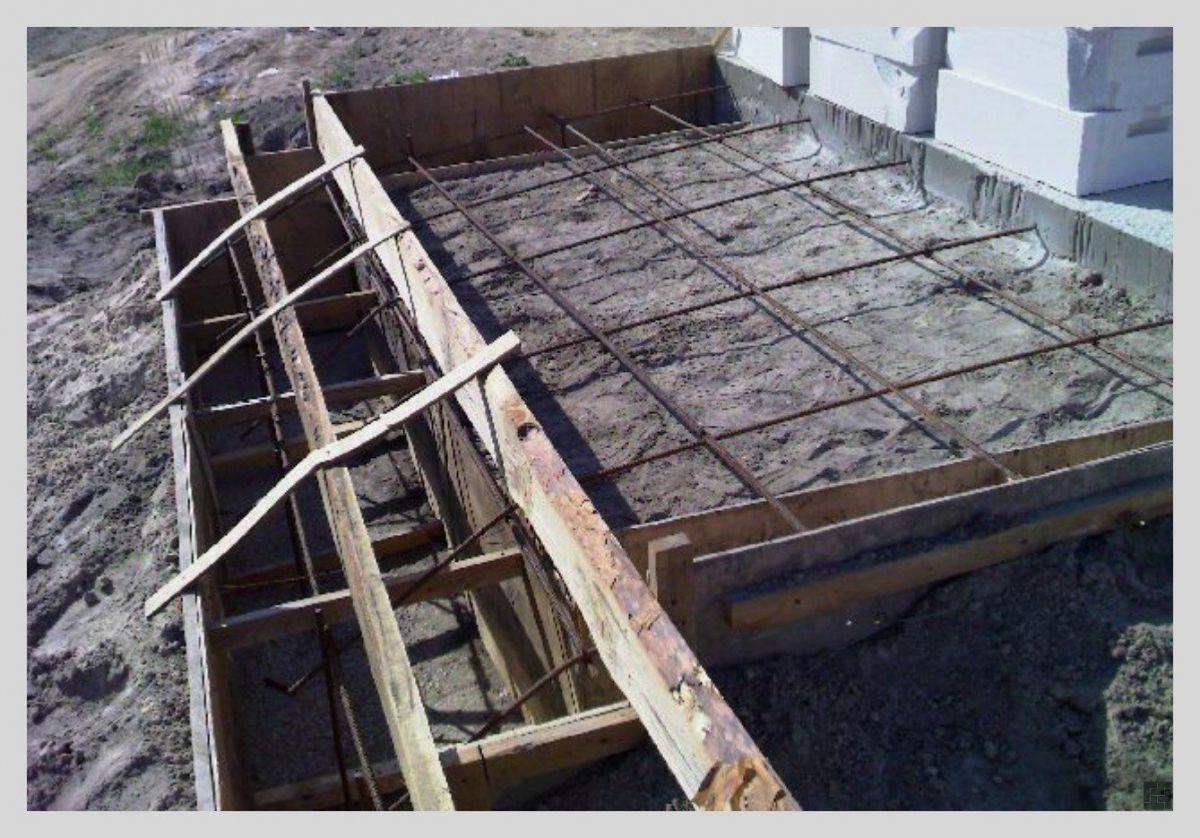 Крыльцо из бетона 244