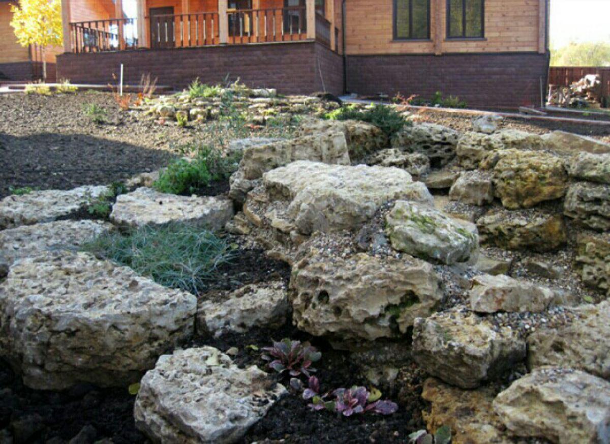 Как выбрать камни и флору для альпинария 352