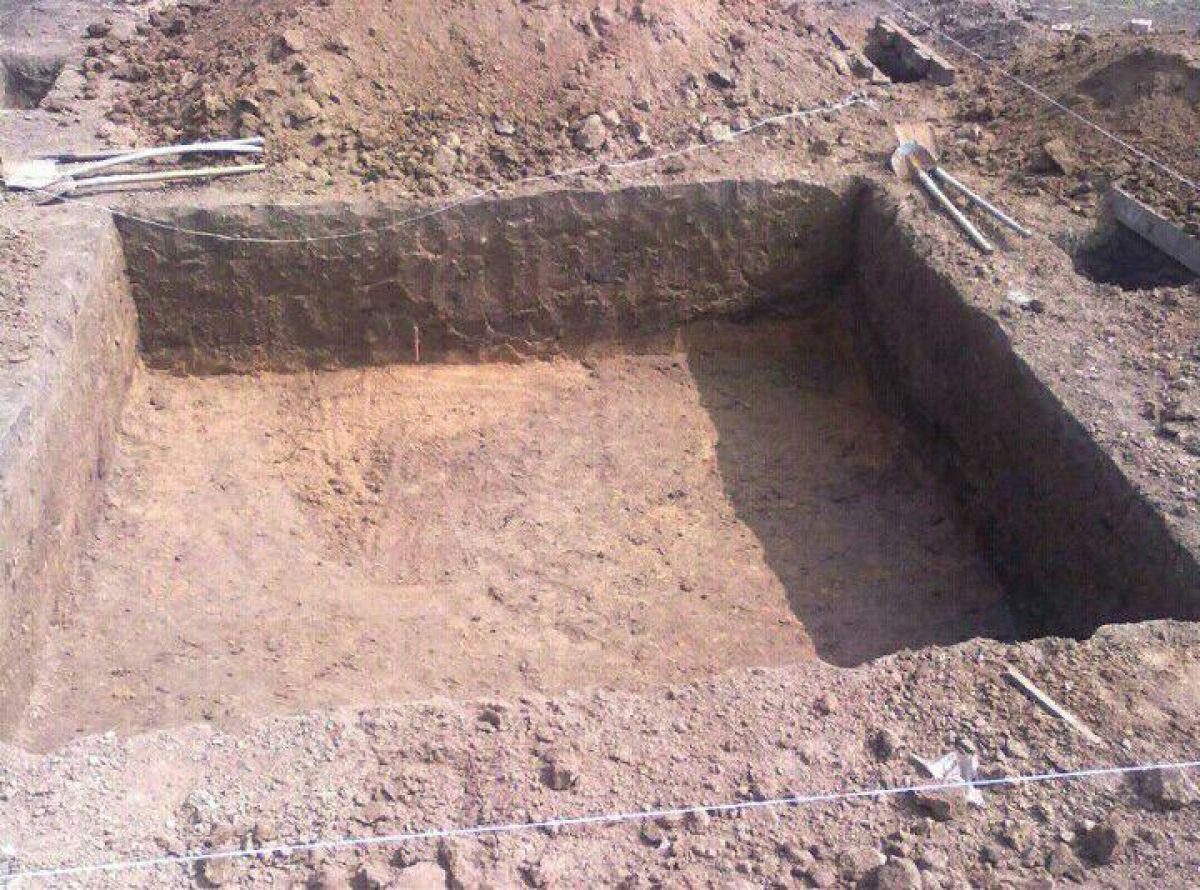 Погреб на участке 478