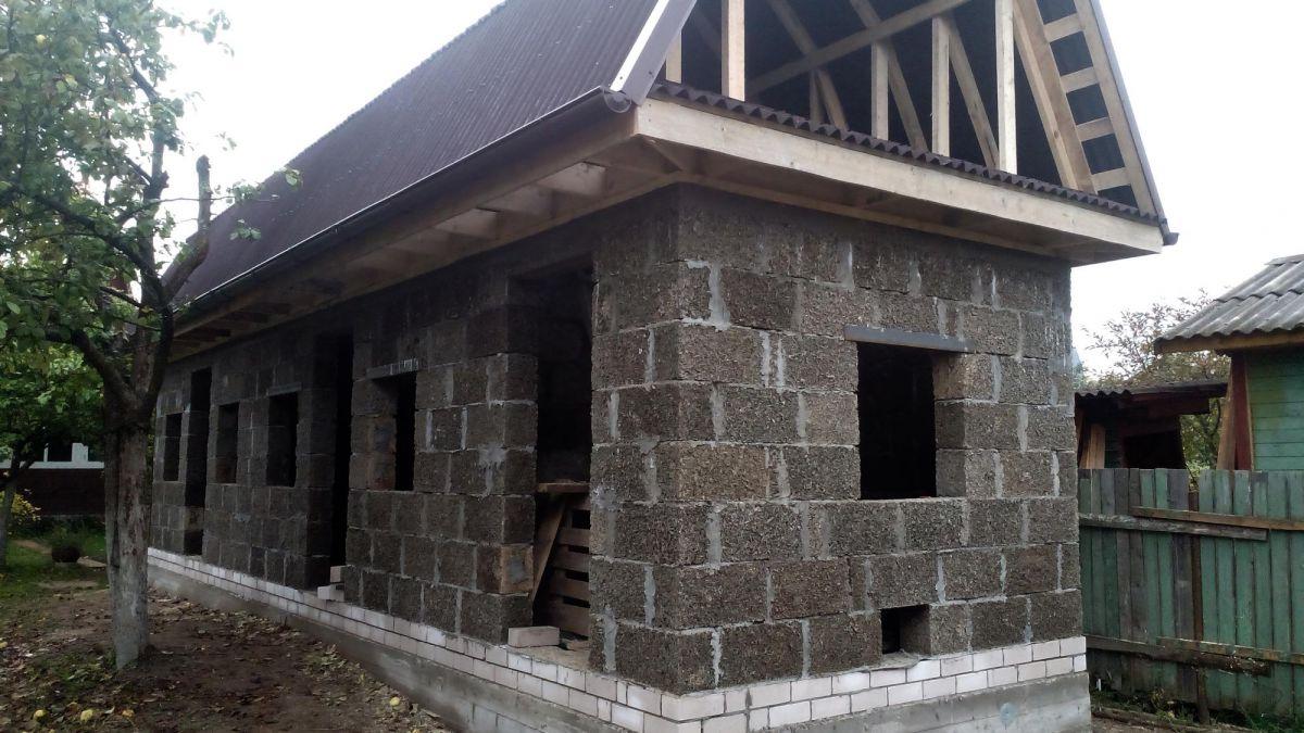 дом баня из арболита
