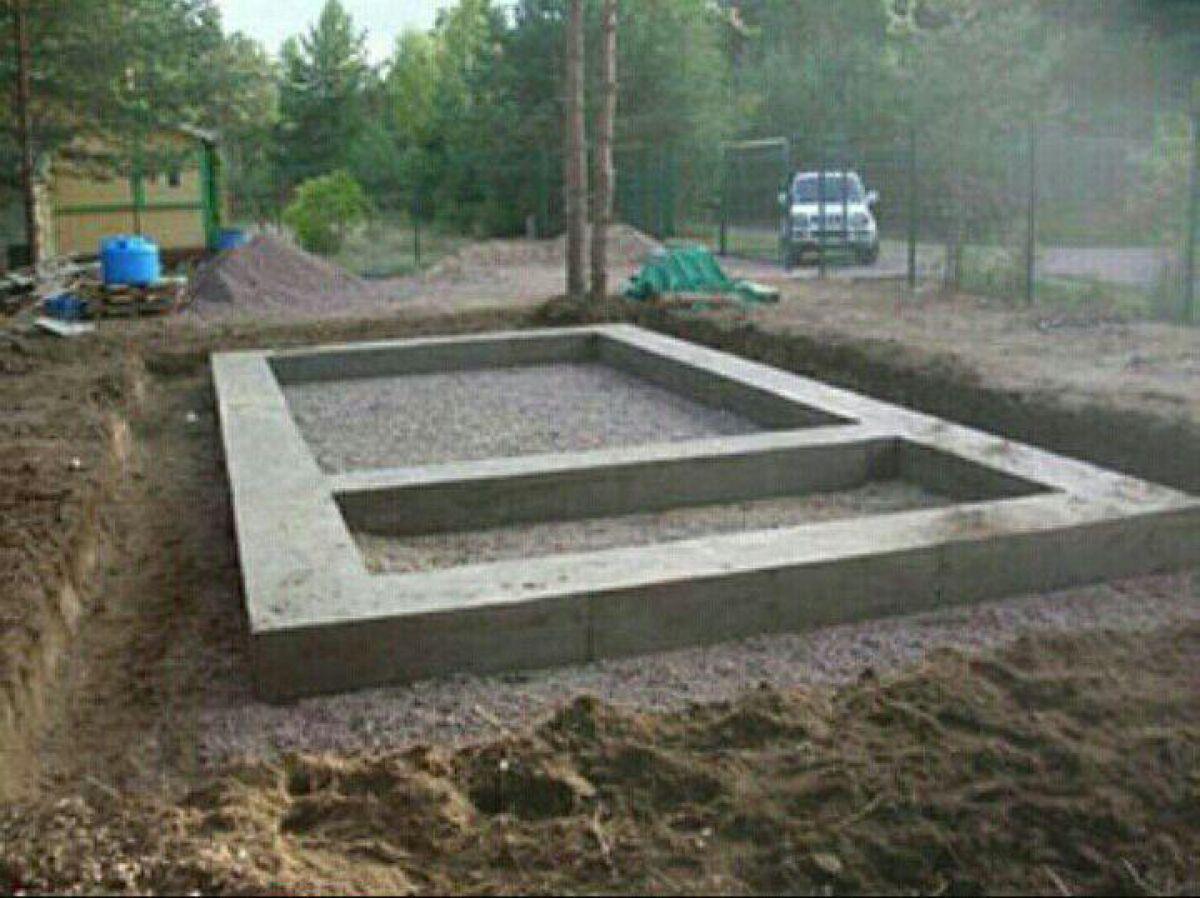 Гараж из керамзитобетонных блоков: технология строительства 578