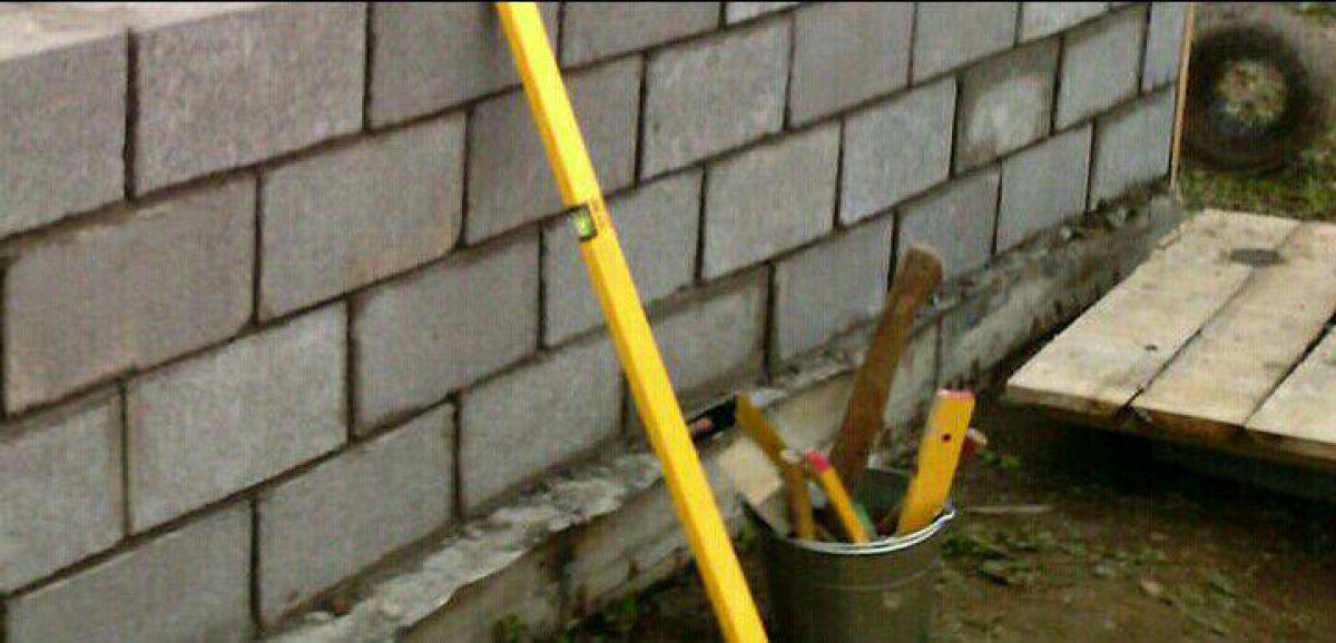 Гараж из керамзитобетонных блоков: технология строительства 585