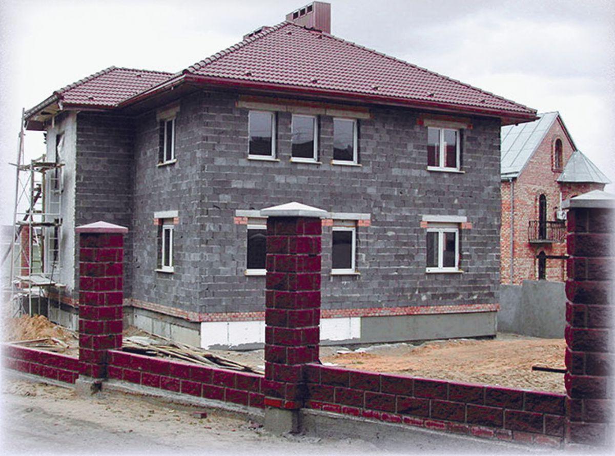 Стены частного дома из керамзитобетона дачные дома из керамзитобетона