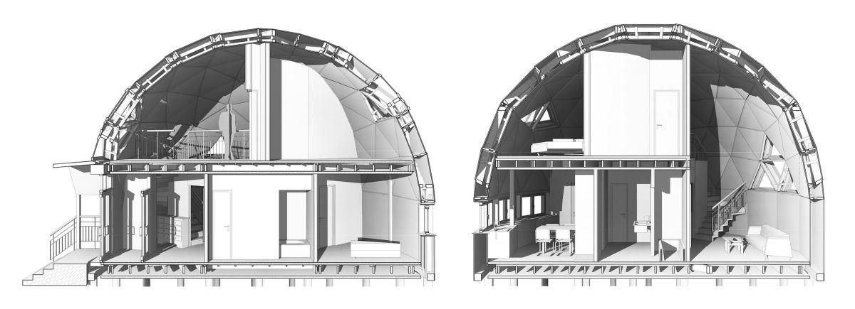 Купольный дом 928