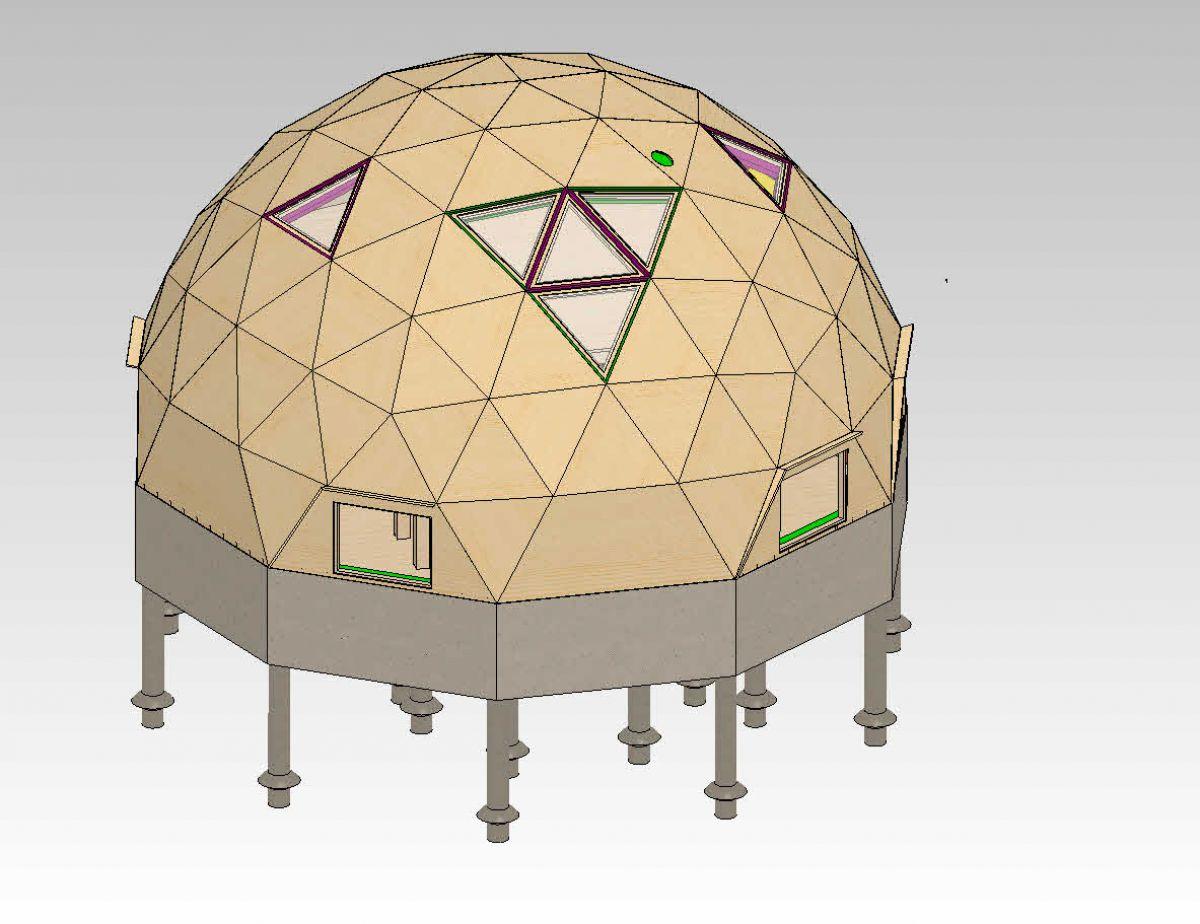 Купольный дом 937