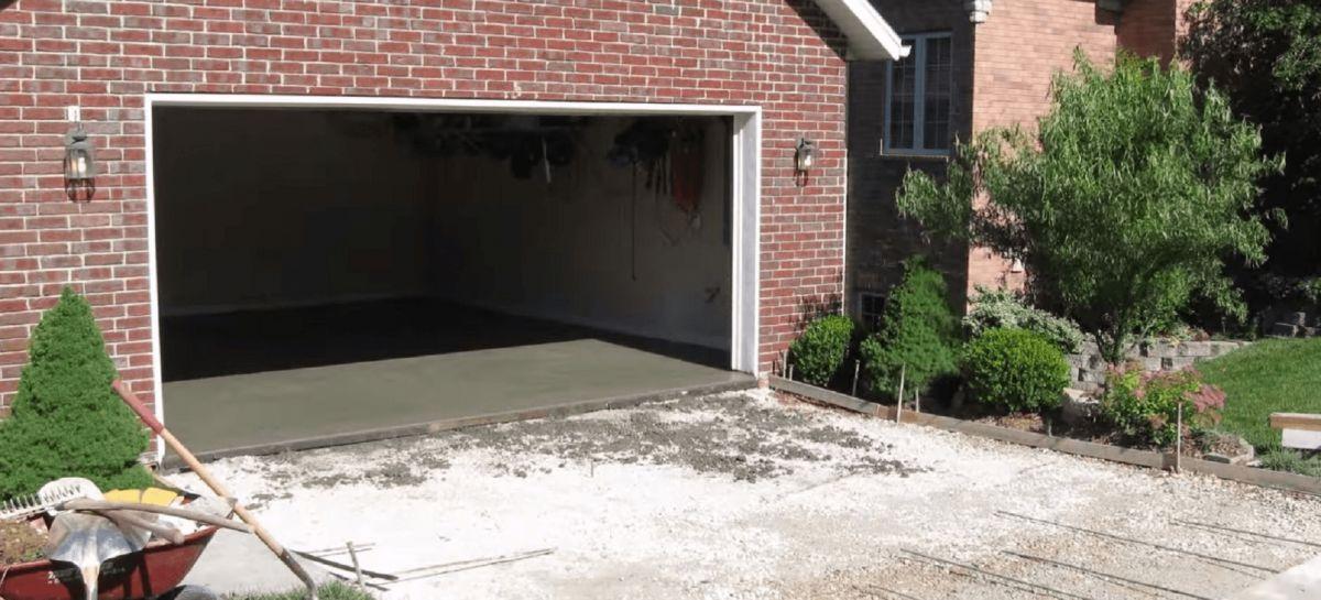 Бетонный пол в гараже.  Плюсы, конструкция и устройство.  1016