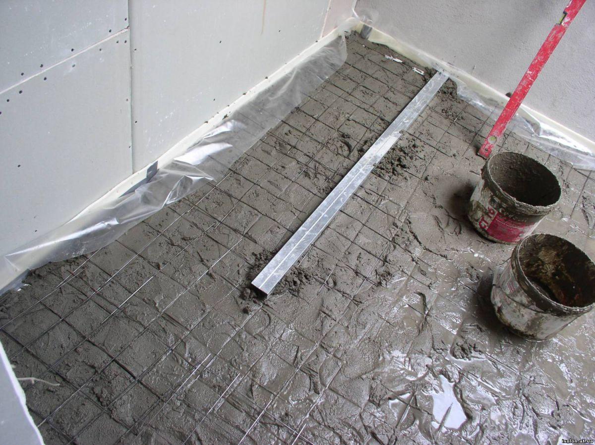 Бетонный пол в гараже.  Плюсы, конструкция и устройство.  1020