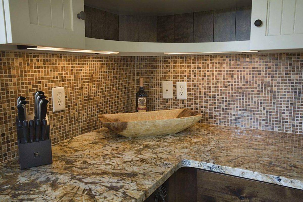 Интерьеры из мозаичной плитки