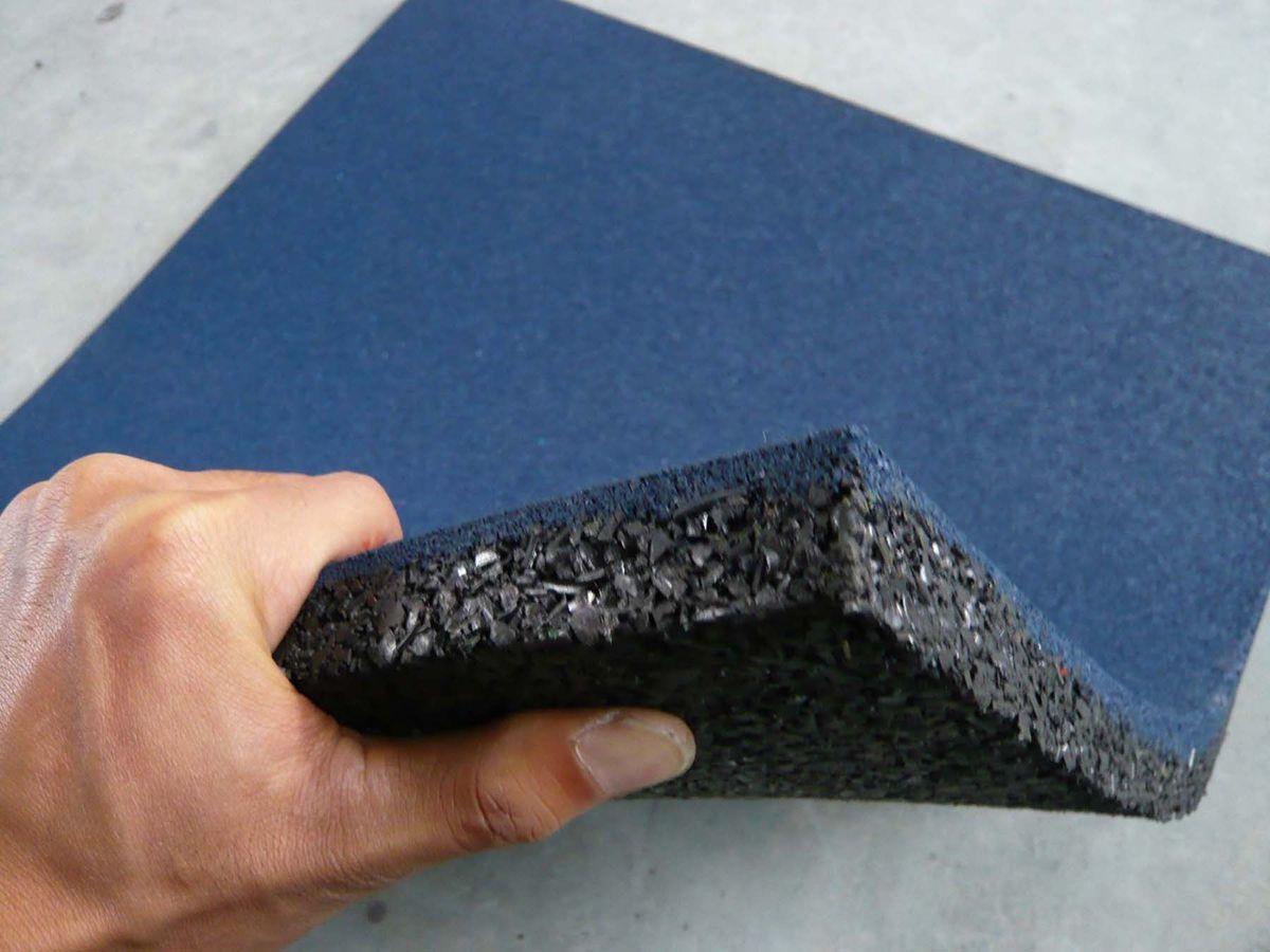 Резиновая плитка – для садовой тропинки, гаража и спортивной площадки 1281