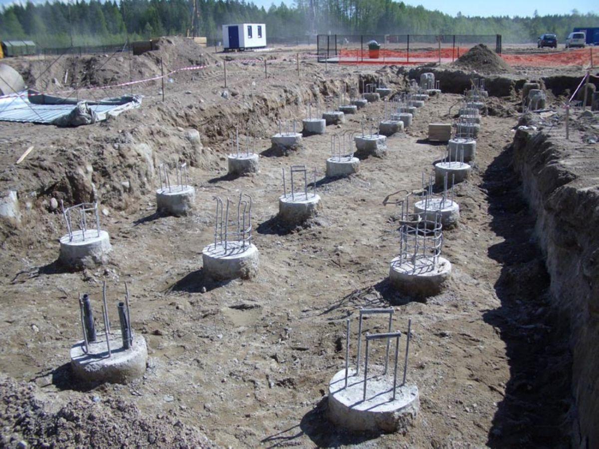 Фундамент на песчаных грунтах. Выбор, особенности строительства 1372
