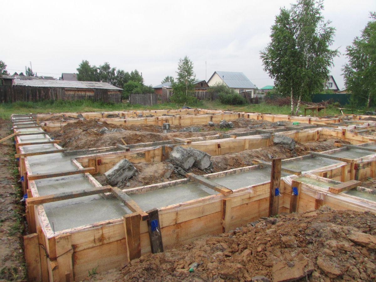 Фундамент на глине 1387