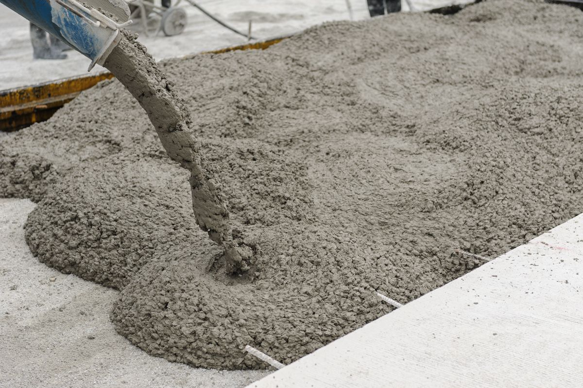 Подбор рецепта бетона марки тощего бетона