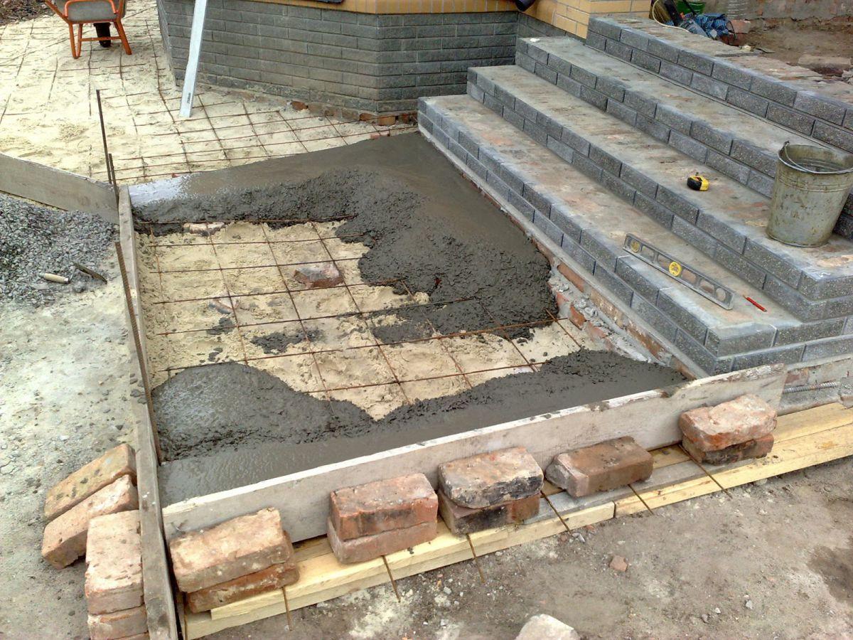 Приготовление бетона для ленточного фундамента - на своем участке. Подготовка и материалы для изготовления бетонной смеси 1438