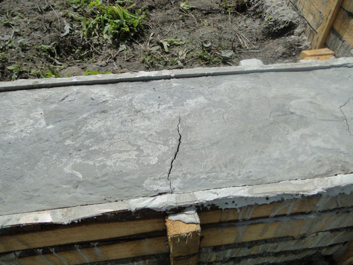 Приготовление бетона для ленточного фундамента - на своем участке. Температура бетонной смеси 1479