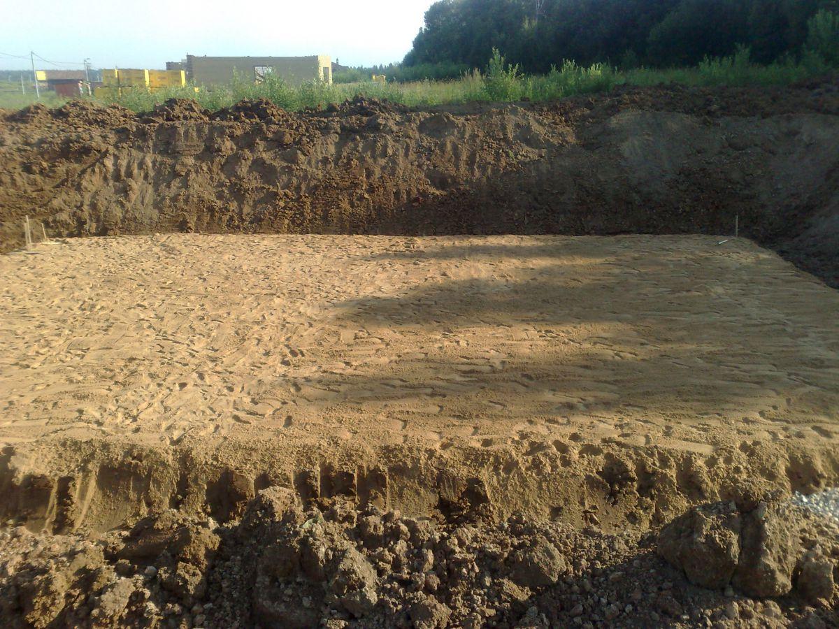 Фундамент на болоте и торфянике 1551