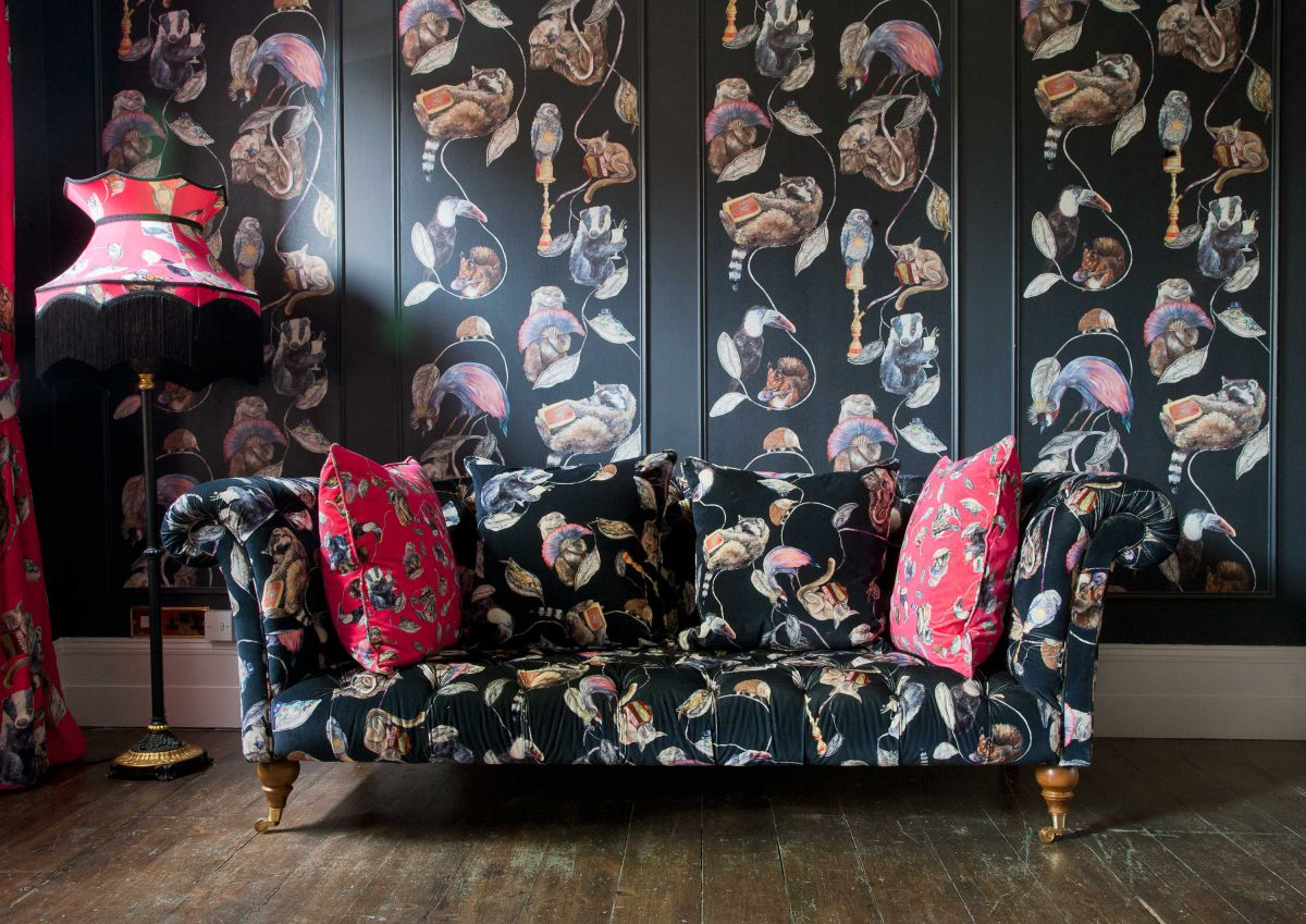 Ткани и текстиль для отделки стен – не каприз 1576