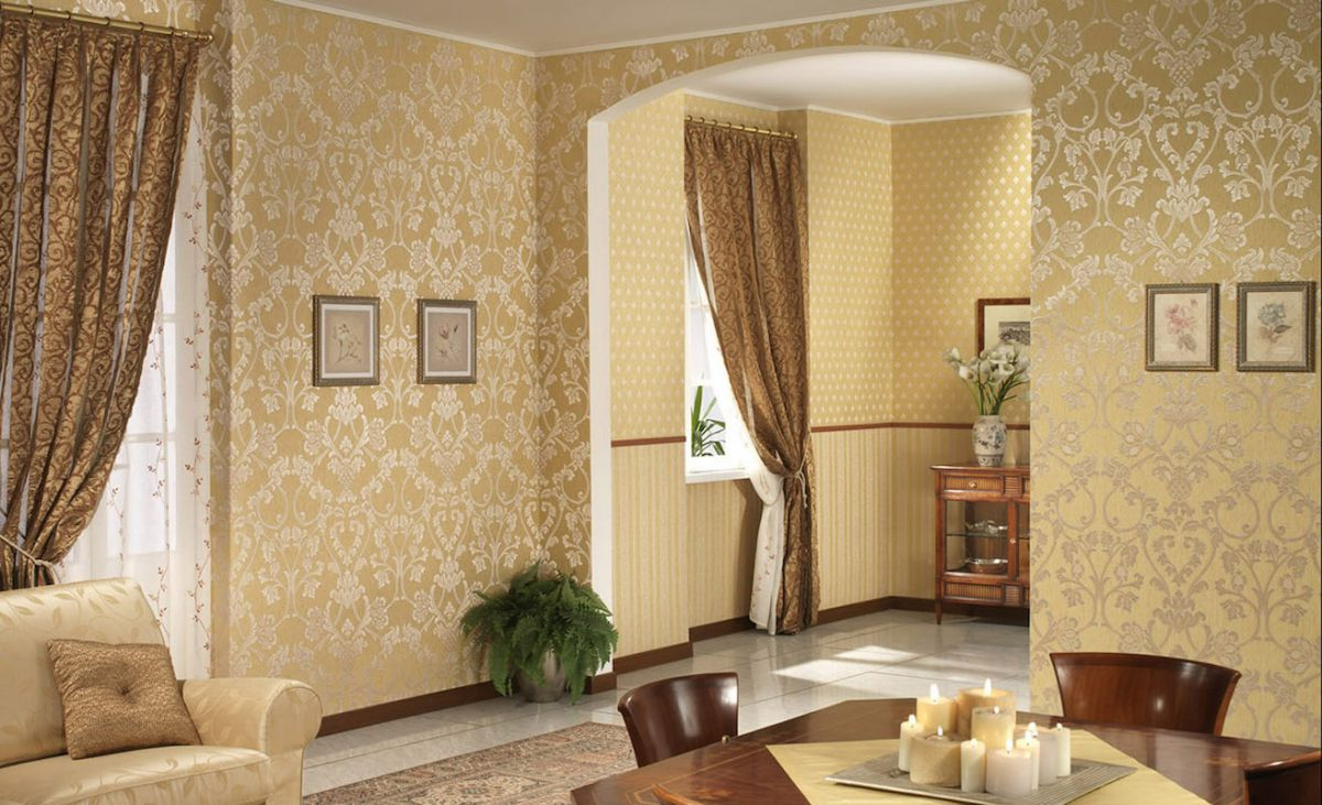 Ткани и текстиль для отделки стен – не каприз 1583