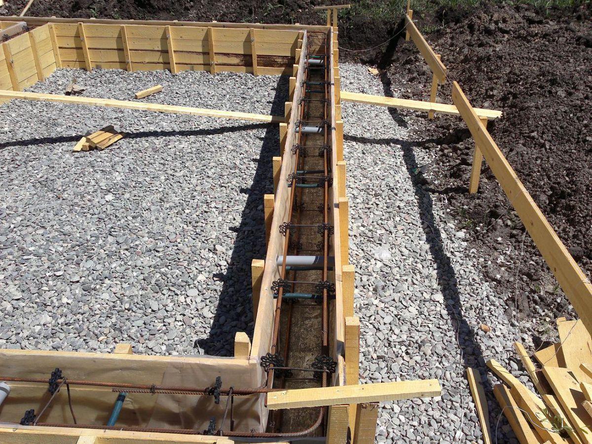 Укладка и уплотнение бетона  1606