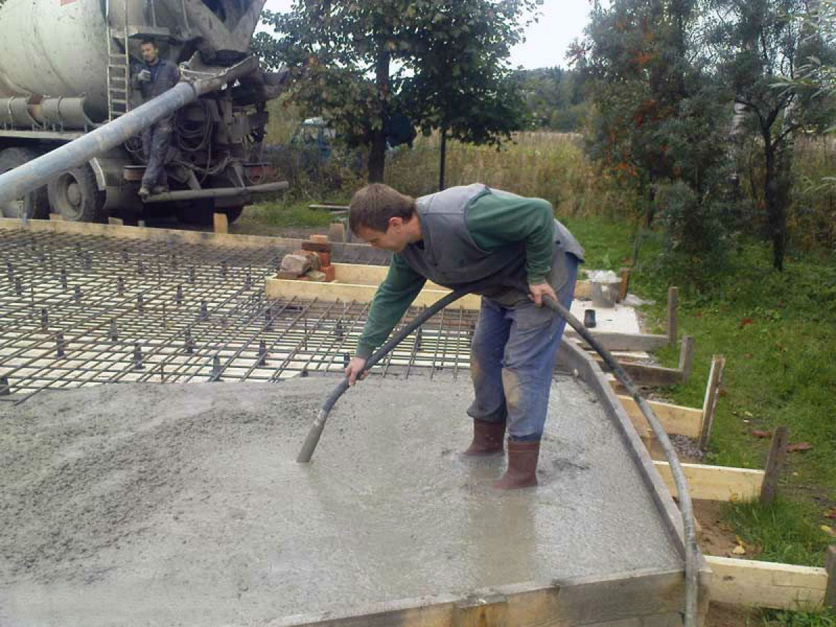 Бетон самотеком бетон м125