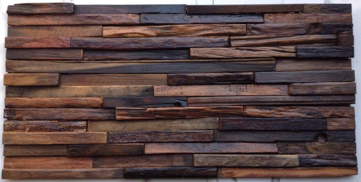 Облицовка стен…  деревянной плиткой 1766