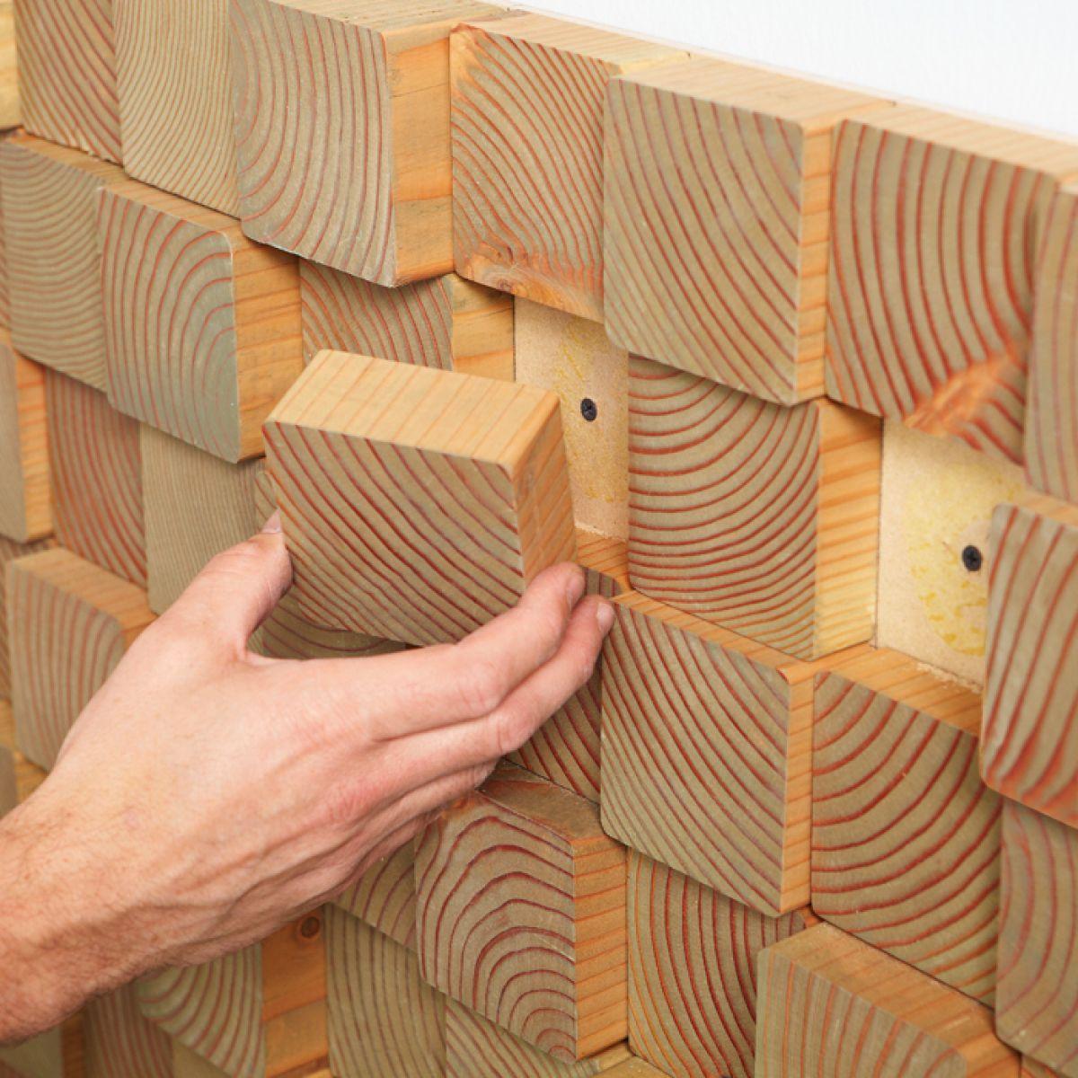 Облицовка стен…  деревянной плиткой 1767