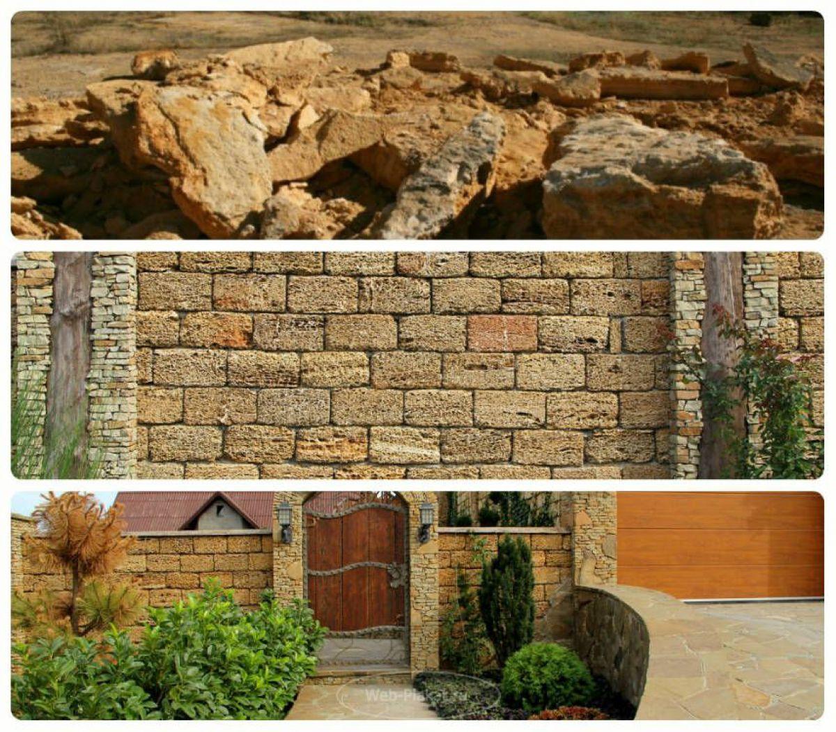 Ракушечник – природный камень для малоэтажного строительства 1778