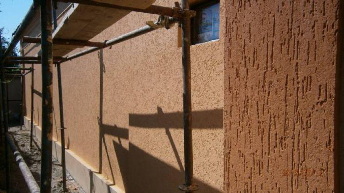 Мокрый фасад – технология утепления и отделки 1905