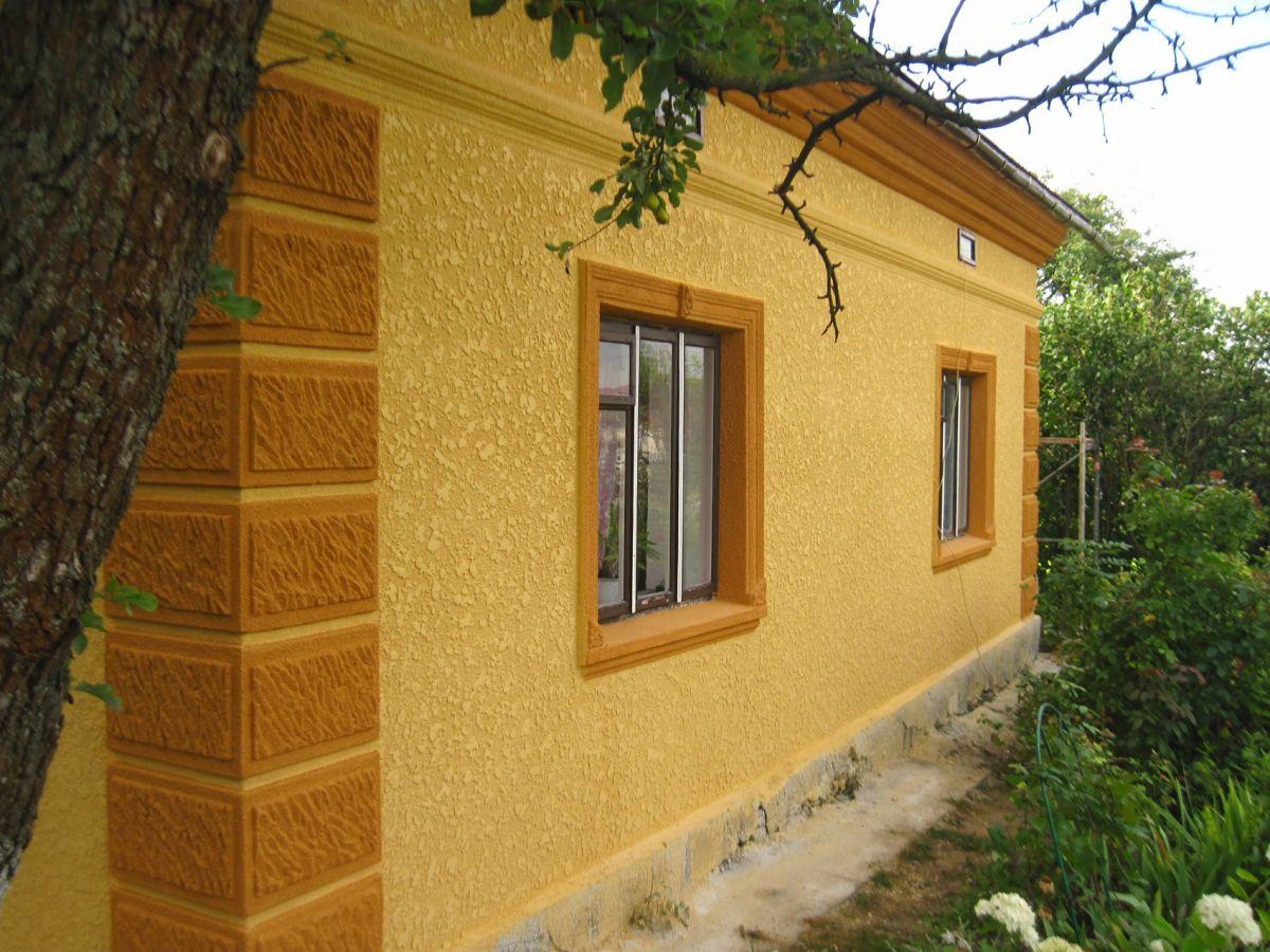 декоративная штукатурка для фасада дома фото рисунки смайликов клеточкам