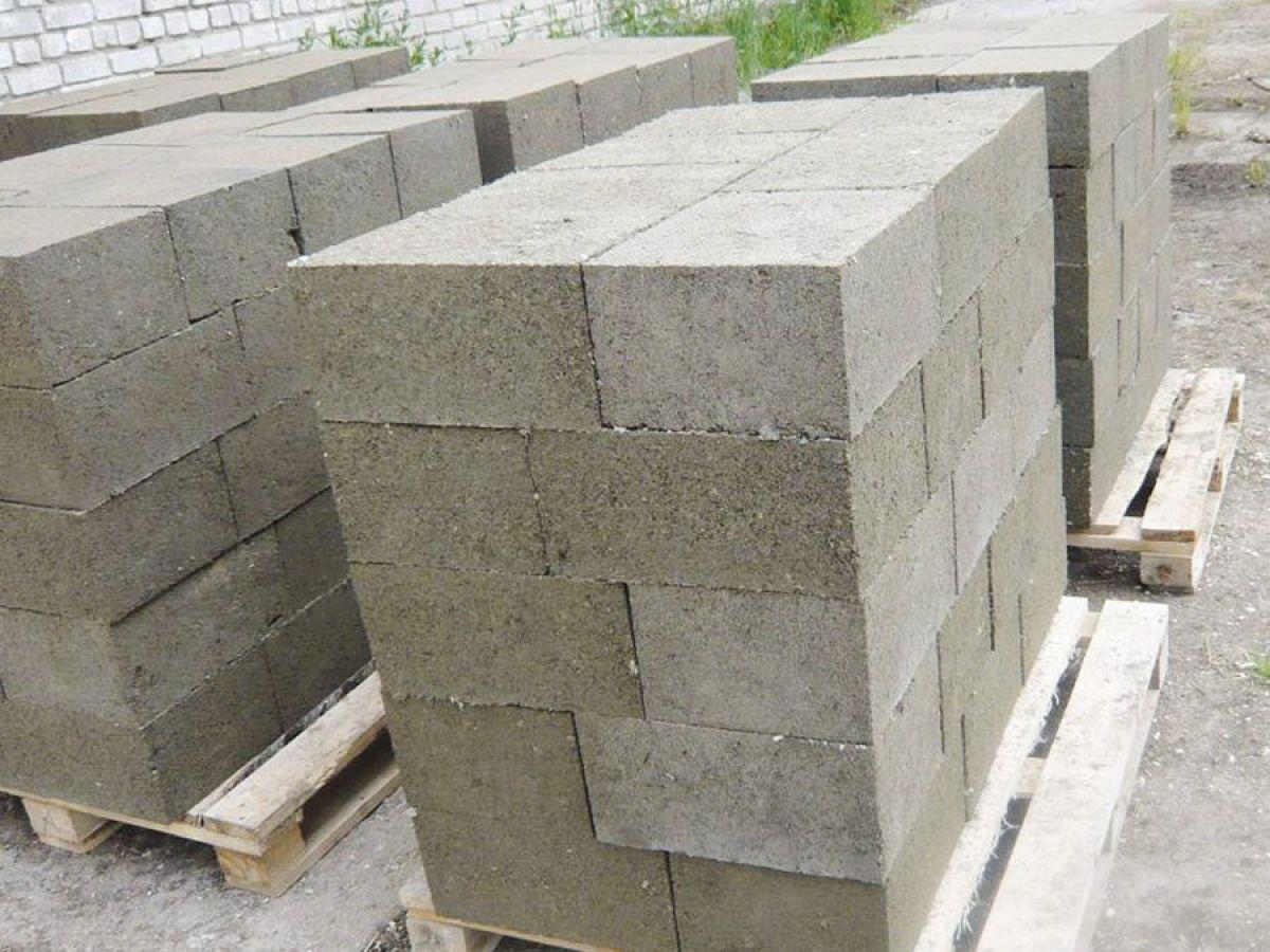 Строительные блоки из опилок своими руками пропорции