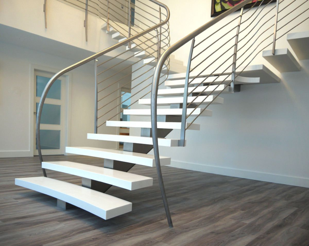 Как сделать лестницу 2412