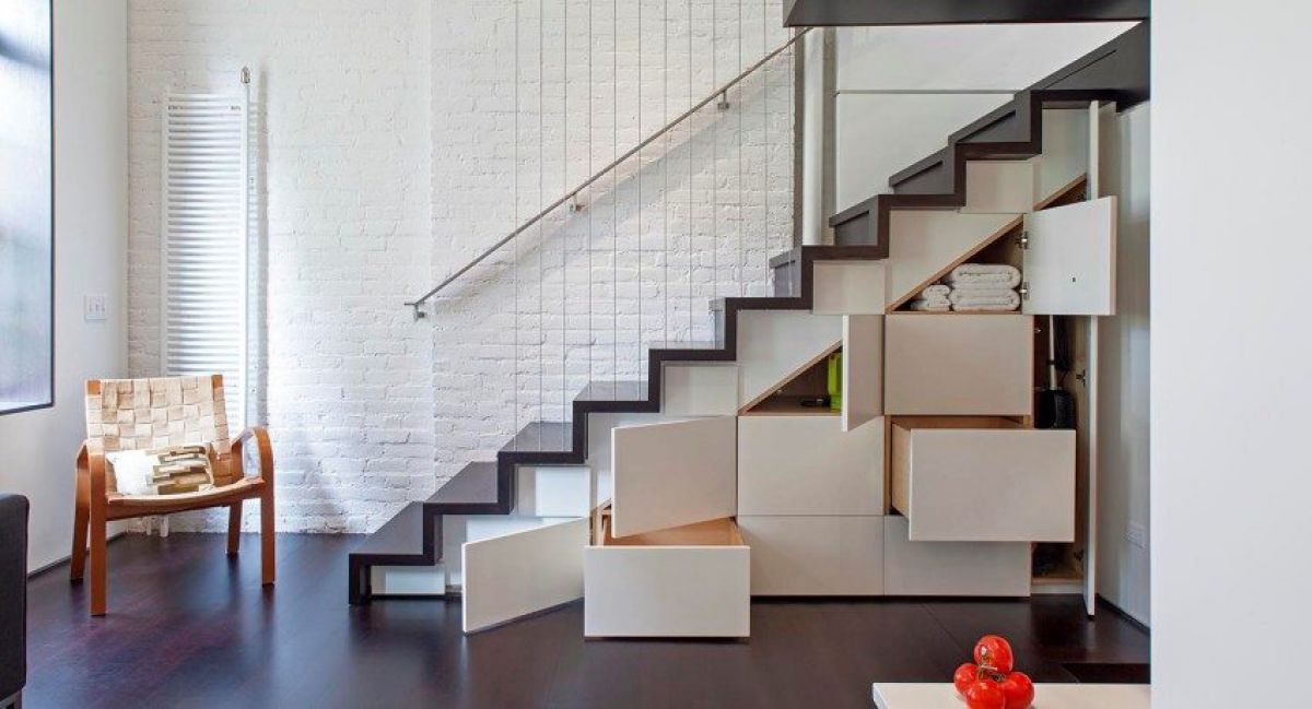 Лестница для коттеджа. Виды лестниц 2418