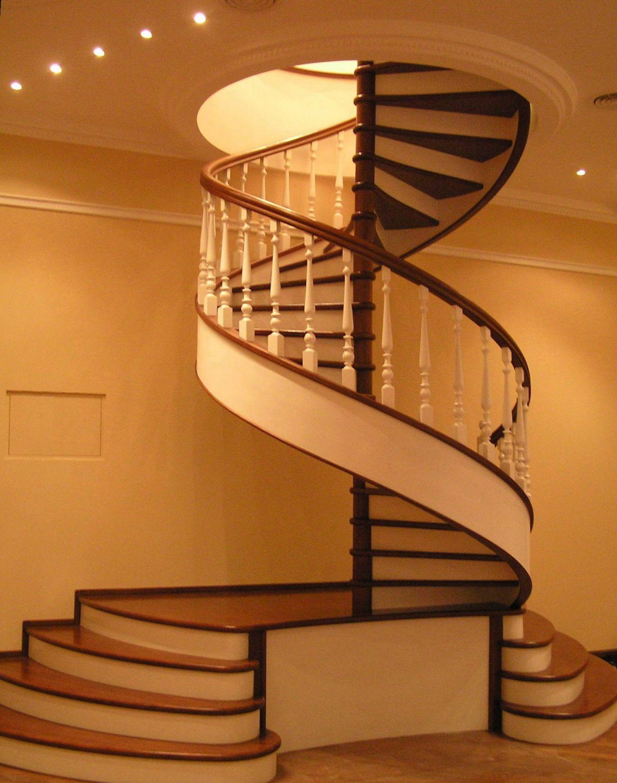 Лестница для коттеджа. Виды лестниц 2426