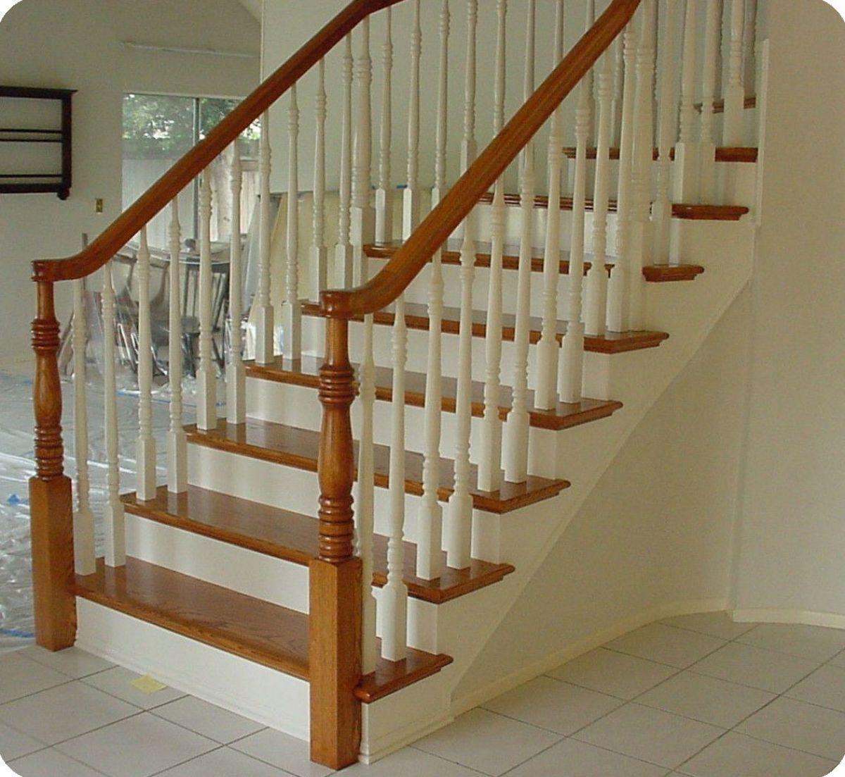 Лестница для коттеджа. Виды лестниц 2429