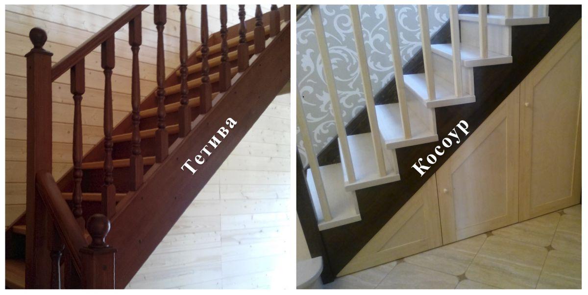 Лестница для коттеджа. Виды лестниц 2434