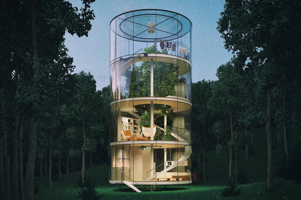 Стеклянный дом – мечты и реальность 2459