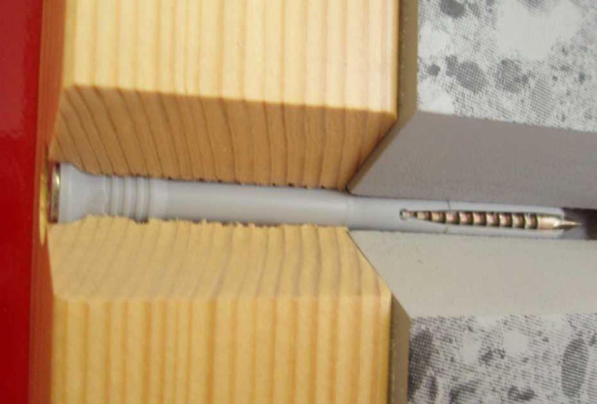 Крепление бруса к стене. Опирание балок из бруса 2609