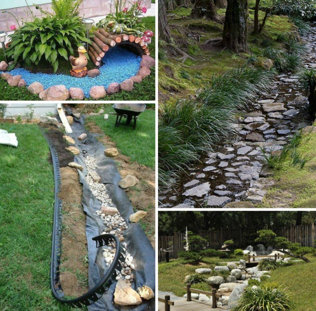 Французский дренаж, сухие ручьи и ливневая канализация 2630
