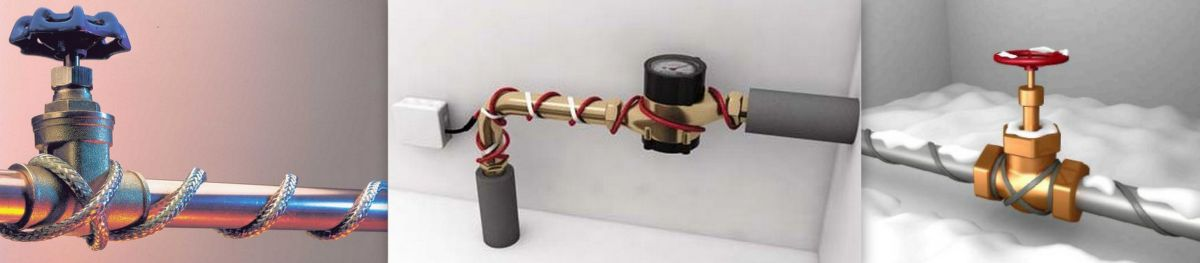 Саморегулирующийся греющий кабель. Виды греющих кабелей, конструкция и применение 2695