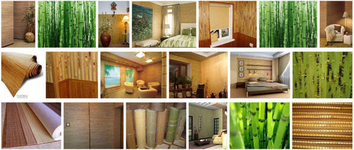 Особенности применения бамбуковых обоев в интерьере