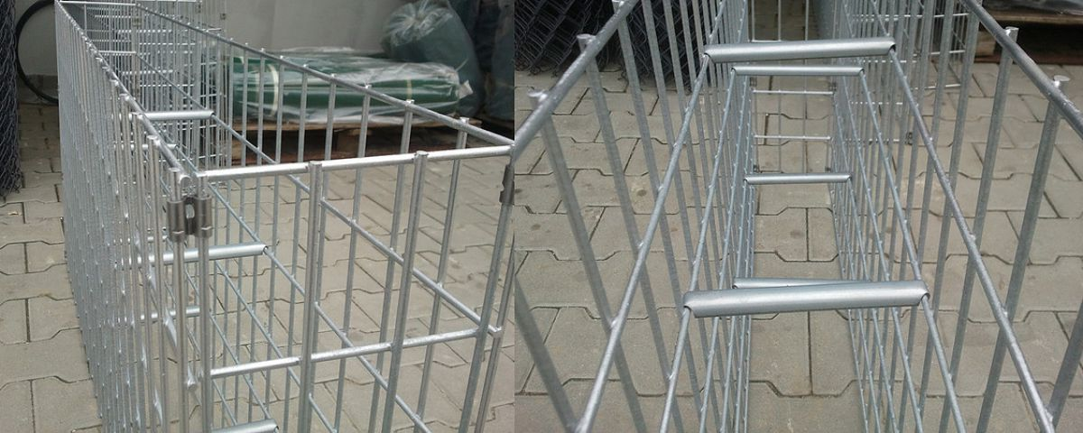 Габион – как ограждение, забор и подпорная стенка 2879