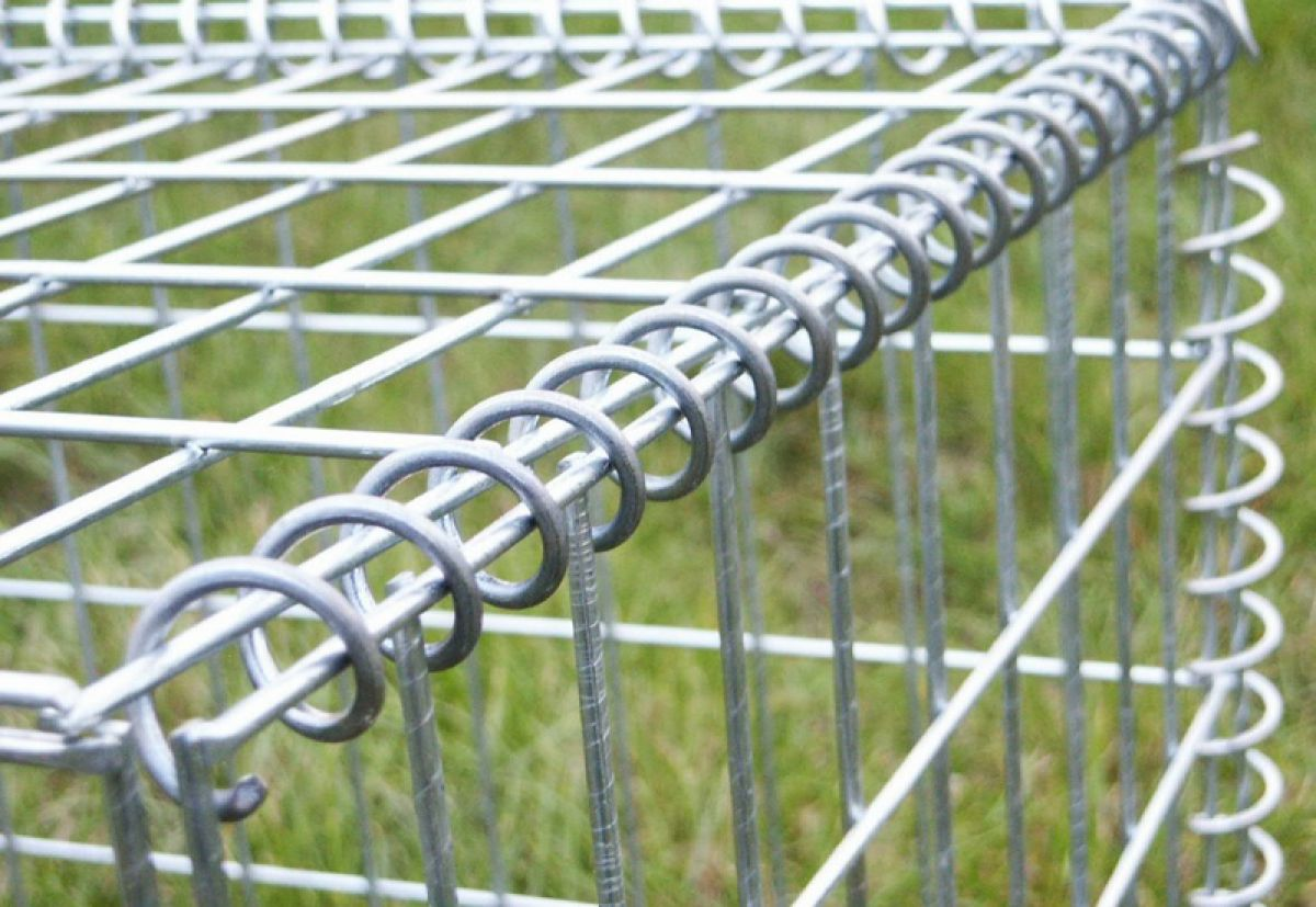Габион – как ограждение, забор и подпорная стенка 2888