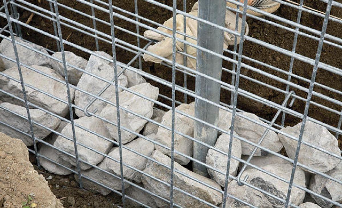 Габион – как ограждение, забор и подпорная стенка 2895