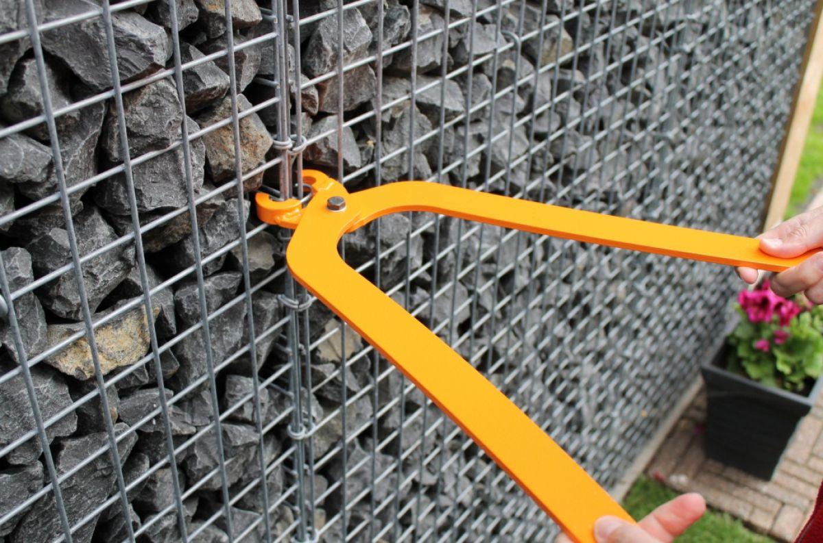 Габион – как ограждение, забор и подпорная стенка 2896