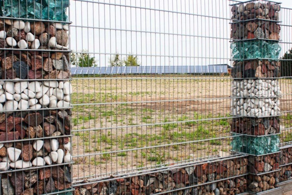 Габион – как ограждение, забор и подпорная стенка 2897