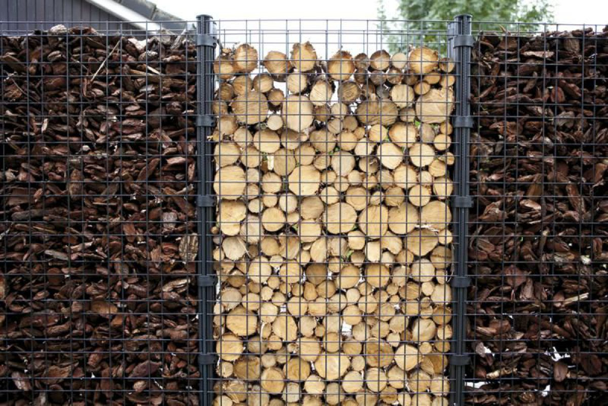 Габион – как ограждение, забор и подпорная стенка 2900