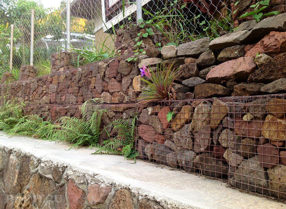 Подпорная стенка для участка с крутым рельефом. Виды подпорных стенок 2905