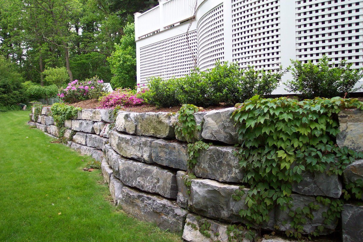 Подпорная стенка для участка с крутым рельефом. Виды подпорных стенок 2921
